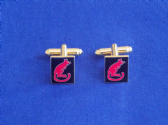 7th ARMOURED DIVISION ( DESERT RATS ) CUFF LINKS